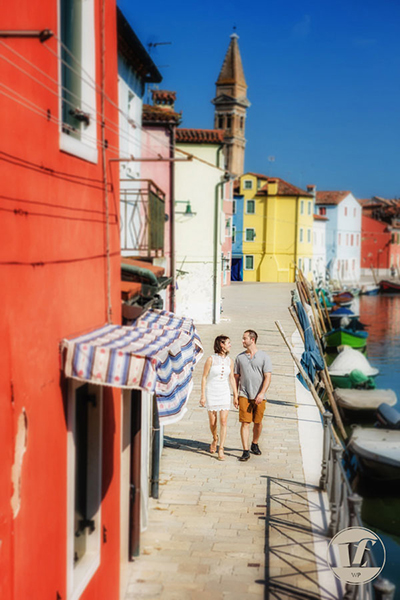 foto fidanzamento burano venezia