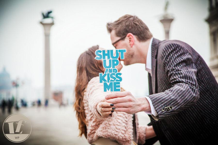 Servizio fotografico di coppia. Fidanzamento a Venezia. Luca Fabbian fotografo in Veneto.