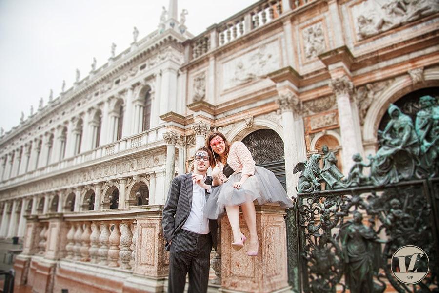 Foto di fidanzamento a Venezia. Fotografia di coppia a Venezia. Luca Fabbian