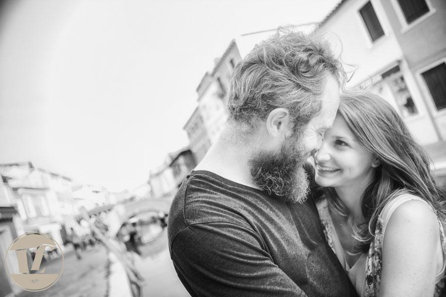 fotografo di coppia burano
