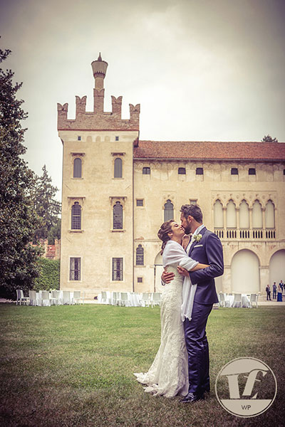 fotografo matrimonio thiene - castello colleoni