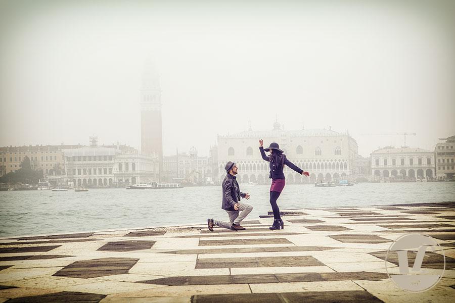 proposta di matrimonio venezia