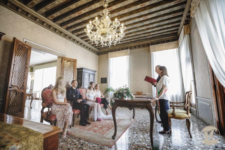 matrimonio intimo a venezia