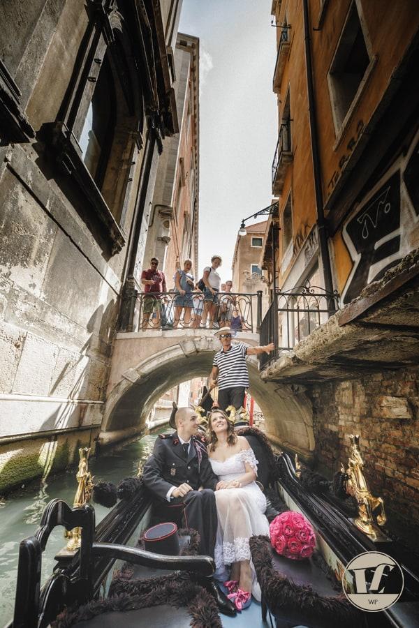 matrimonio gondola venezia