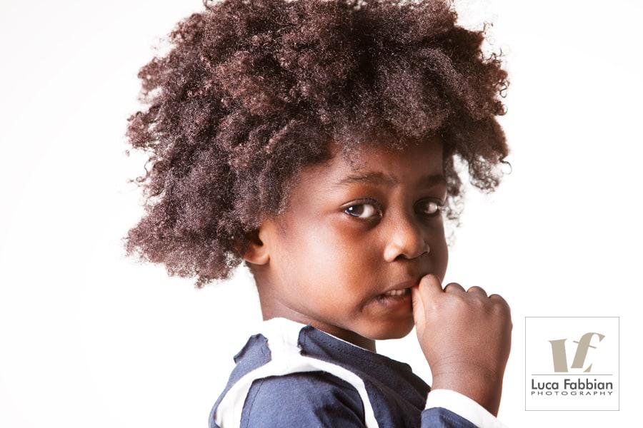 Ritratto fotografico bambino