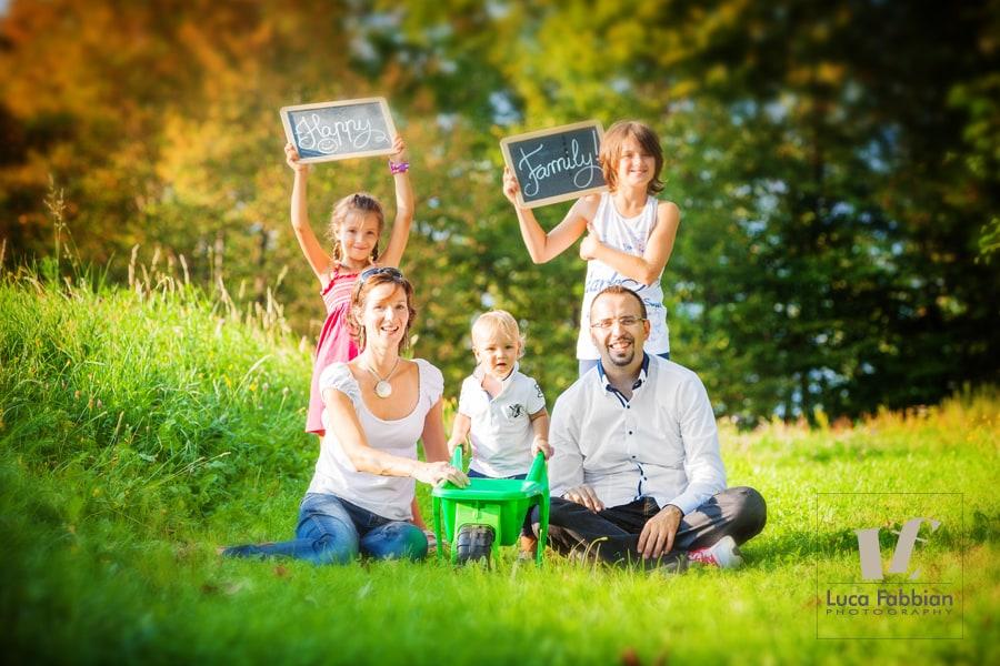 Fotografo Vicenza bambini e famiglie. Studio fotografico Luca Fabbian
