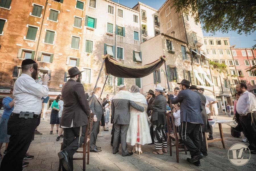 Matrimonio ebraico a Venezia