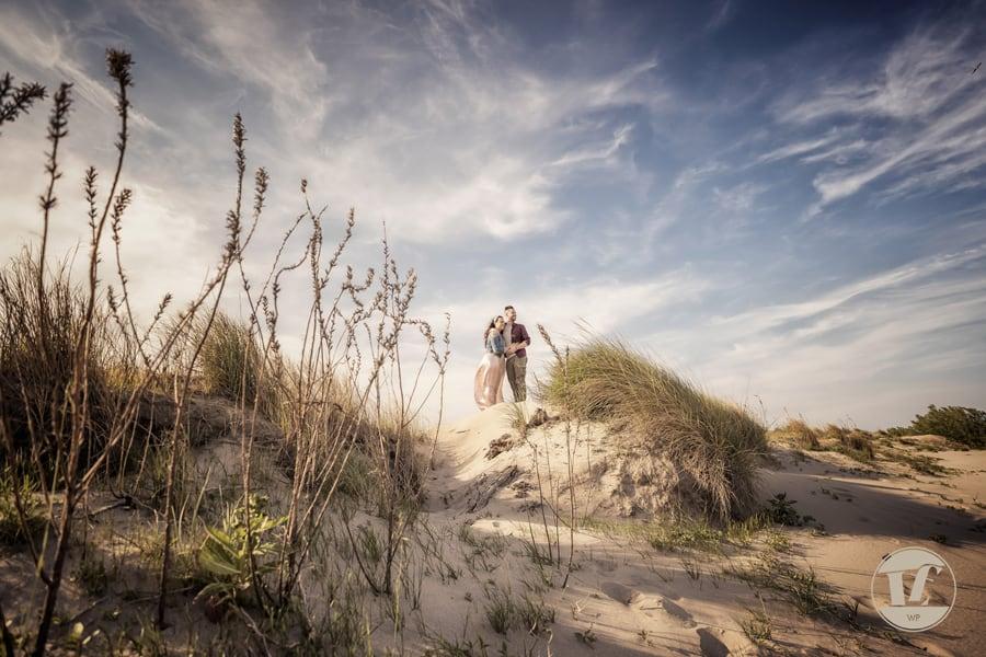 fotografico coppia fidanzati. Mare, spiaggia, primavera