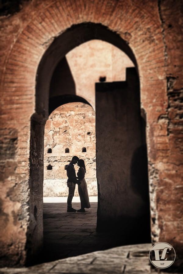 fotografico coppia fidanzati. Marrakesh, Marrakech