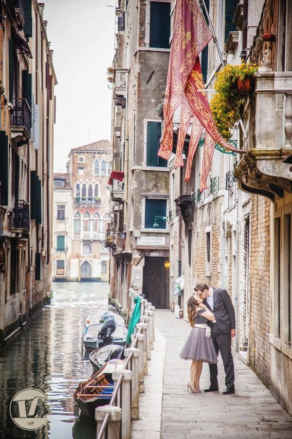 fotografico coppia fidanzati. Venezia