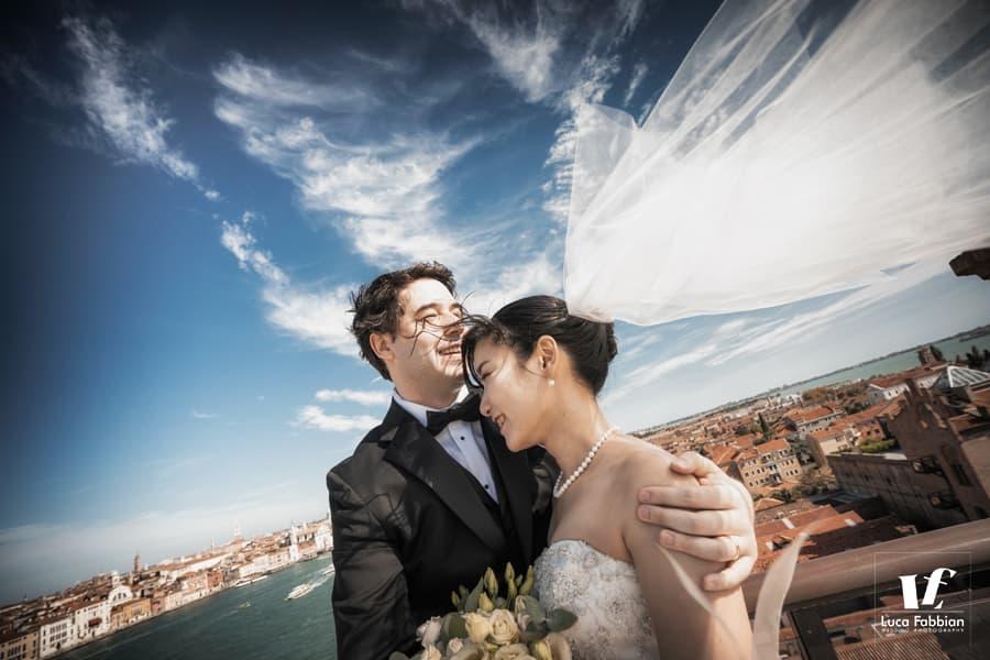 fotografo per luna di miele a Venezia