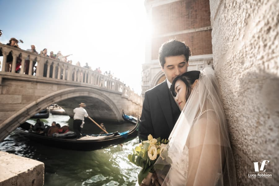 fotografo per luna di miele a Venezia - foto post matrimonio