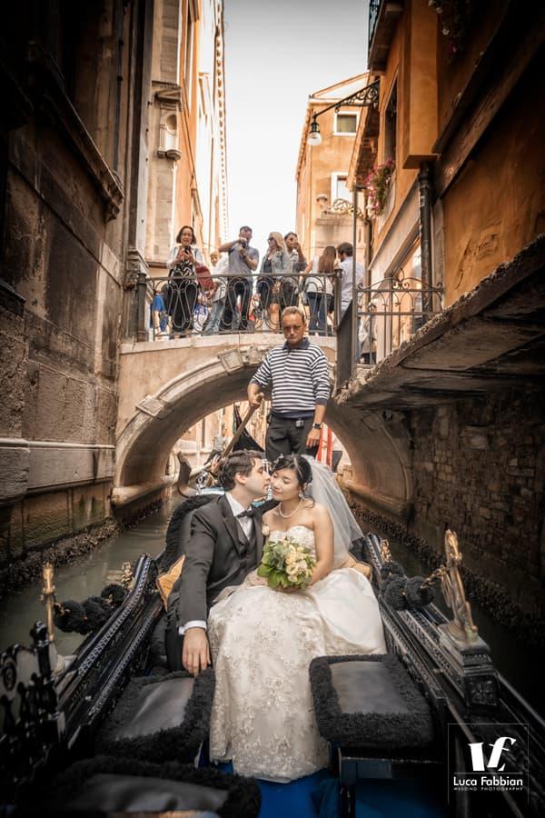 fotografo matrimonio gondola venezia