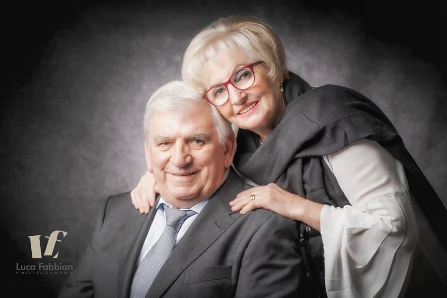 Ritratto di coppia anziana