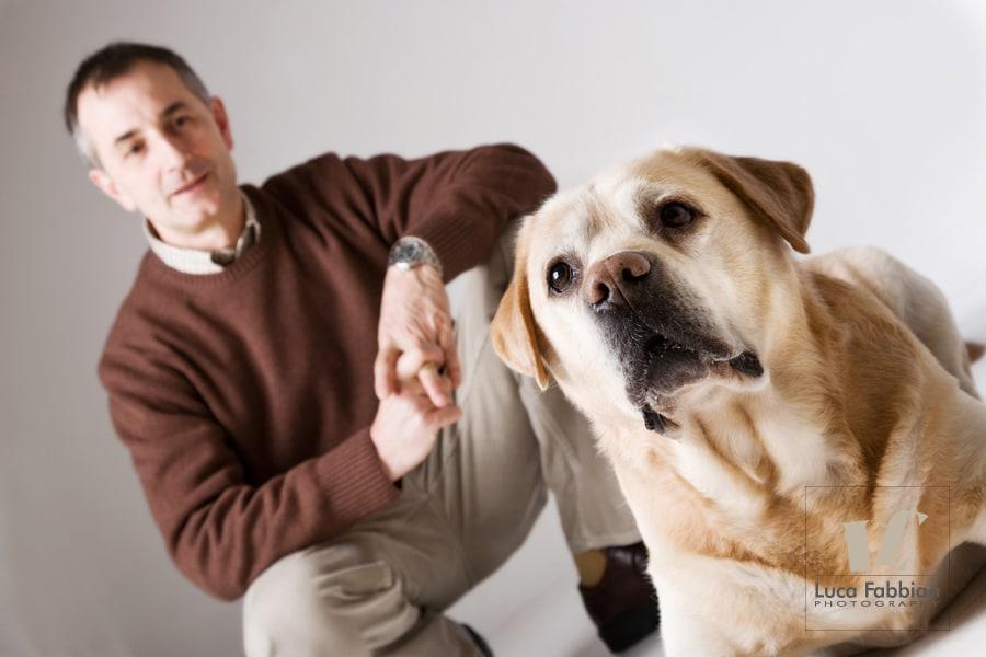 Ritratto con cane