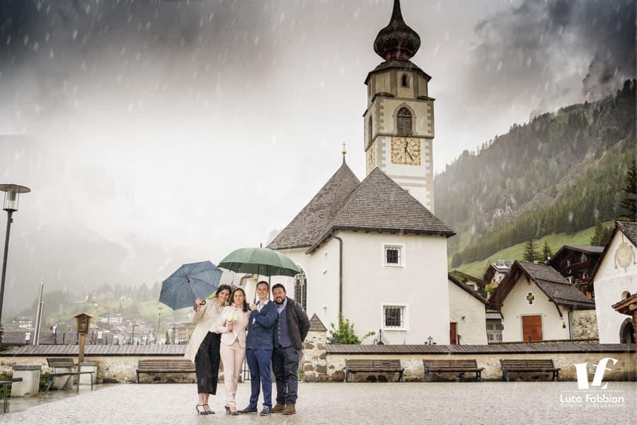 Fotografo matrimonio Alto Adige, Corvara in Badia