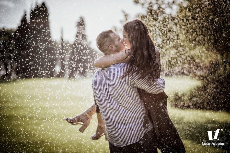 fotografo di coppia, fidanzati, pre matrimoniale Giardini Sigurtà, provincia Verona