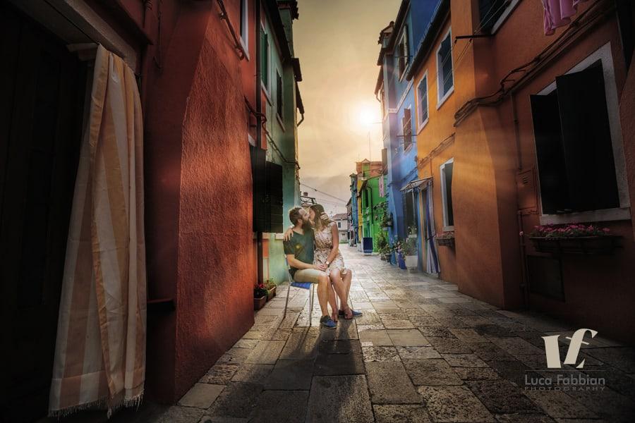 Servizi fotografici per la coppia - Luca Fabbian fotografo a Burano
