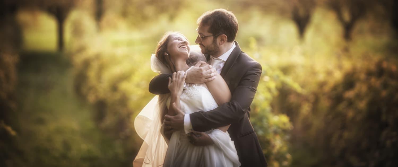 ritratto fotografico sposi in Valpolicella