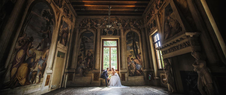 ritratto di matrimonio a Villafranca di Verona