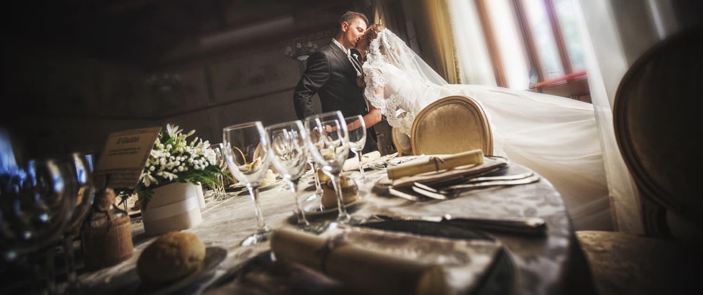 Foto ritratto sposi di un matrimonio a Padova