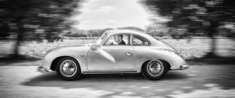 fotografie di matrimonio in auto a Padova