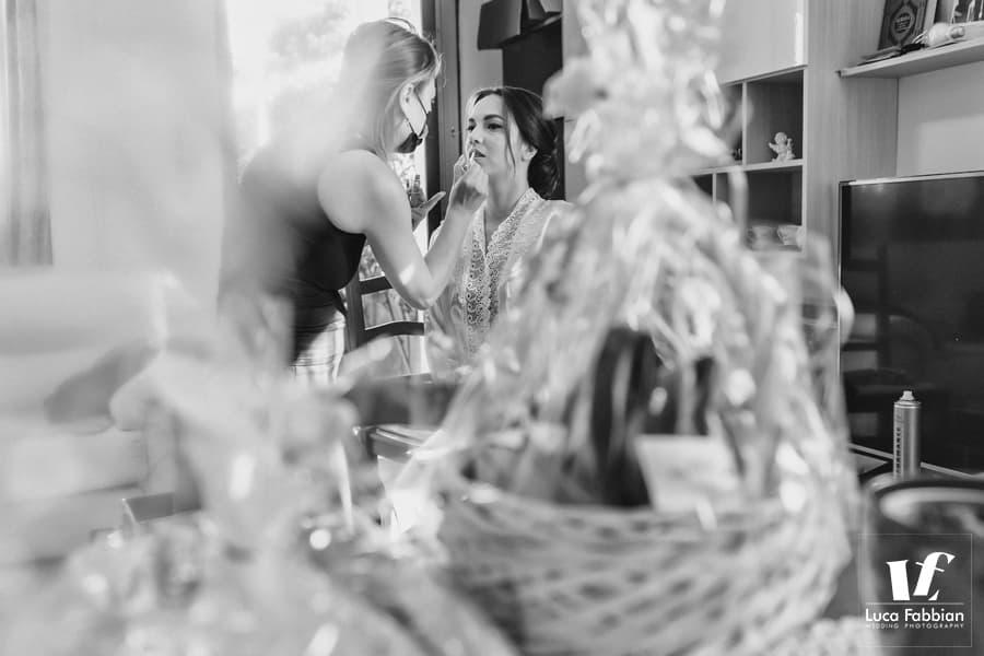 fotografia preparativi sposa Torri di Quartesolo