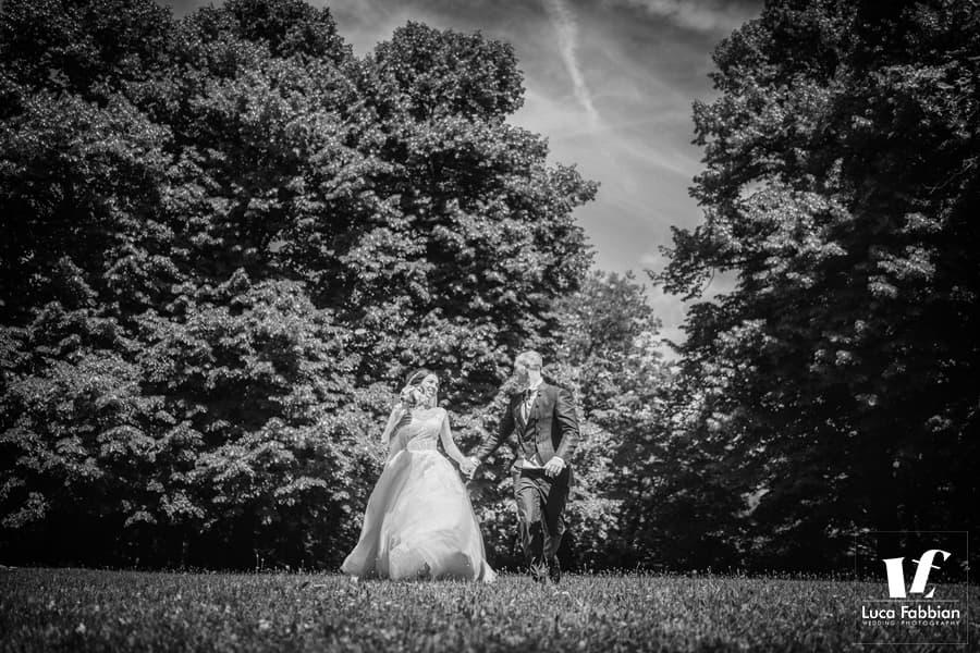 fotografia di matrimonio al castello di Schio