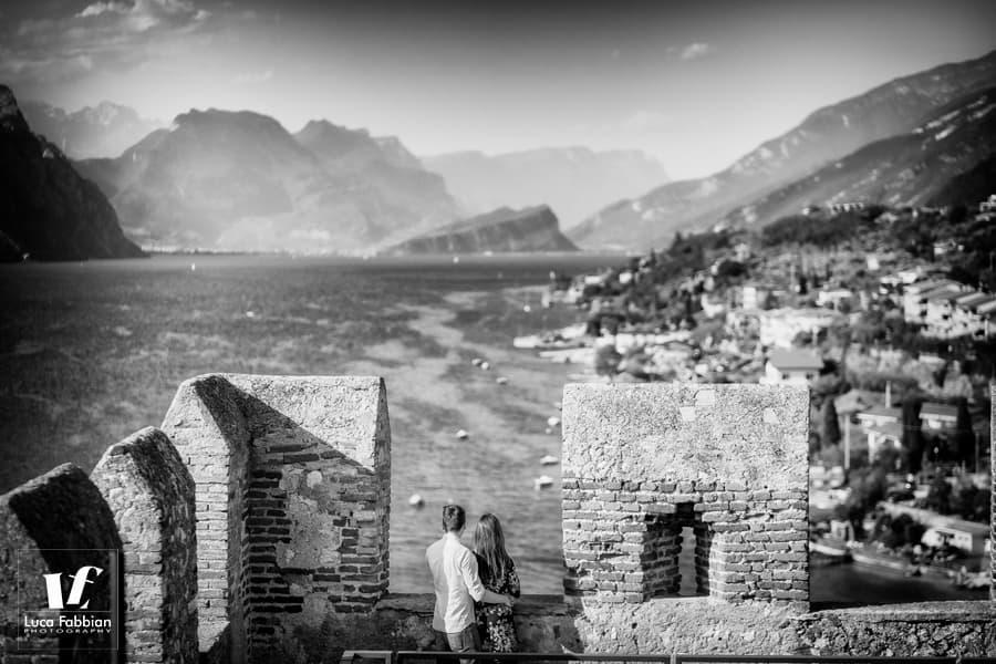 fotografo per fidanzati al lago di Garda