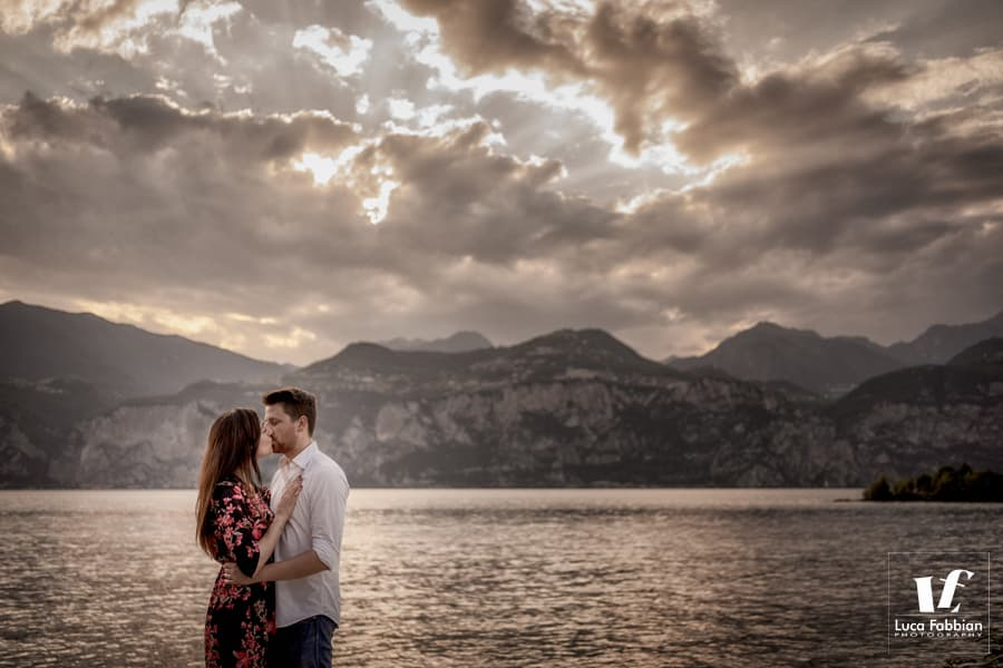 foto di coppia Malcesine