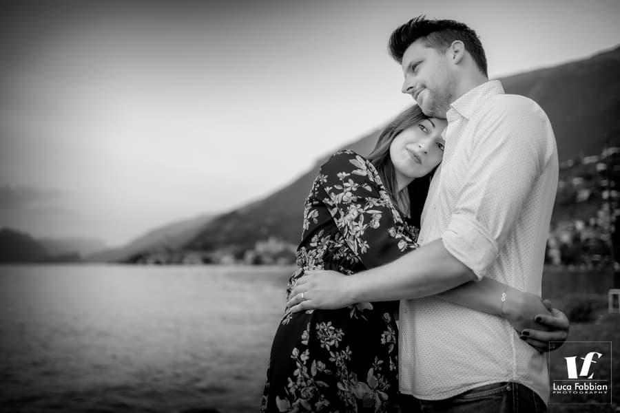 foto engagement lago di Garda