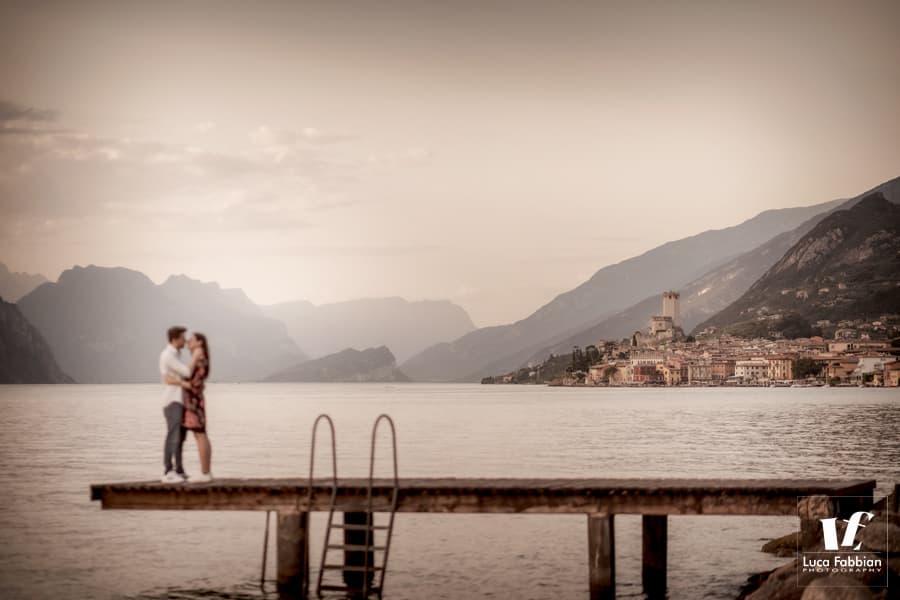 fotografo per coppie al lago di Garda