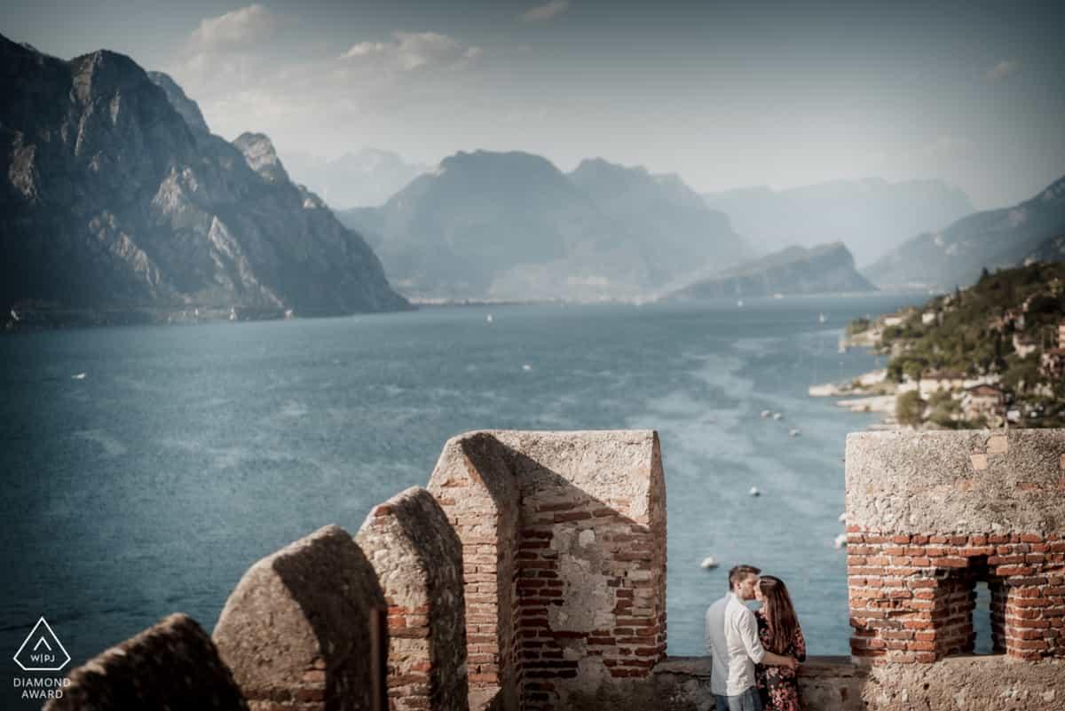 foto di fidanzati a Malcesine