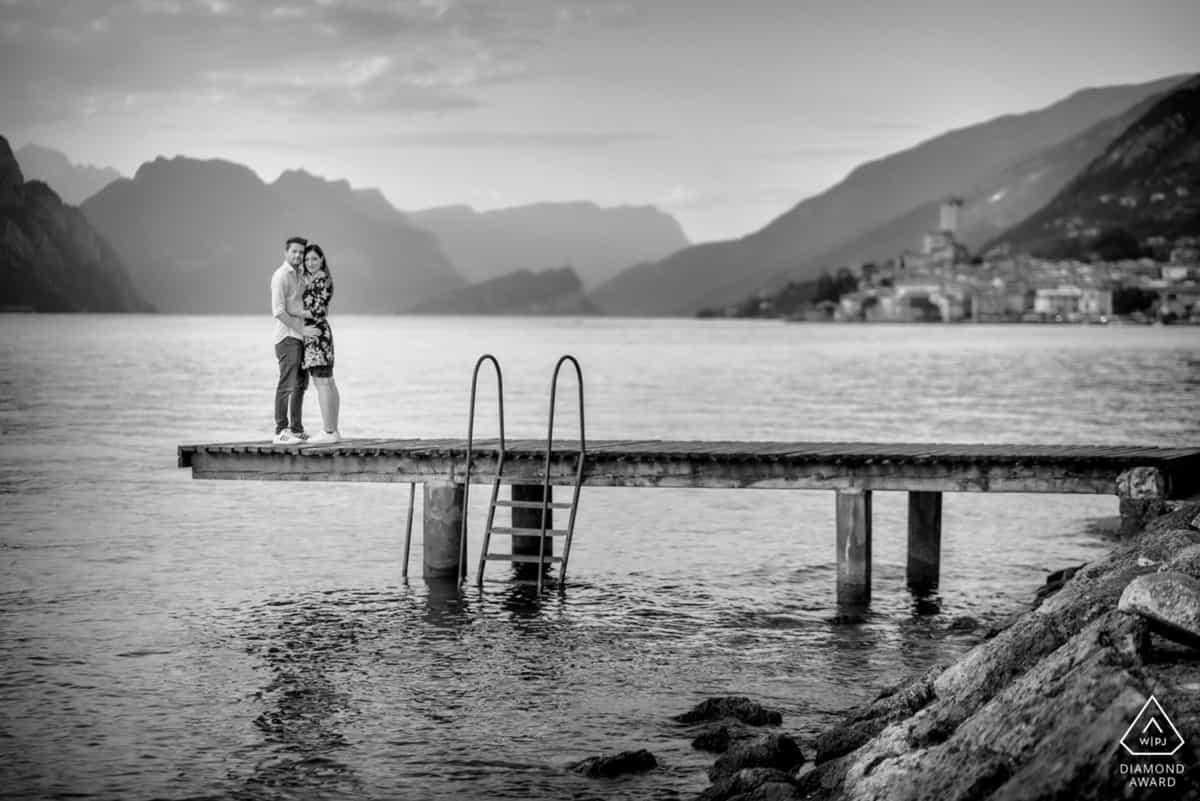 fotografo di coppia lago di Garda