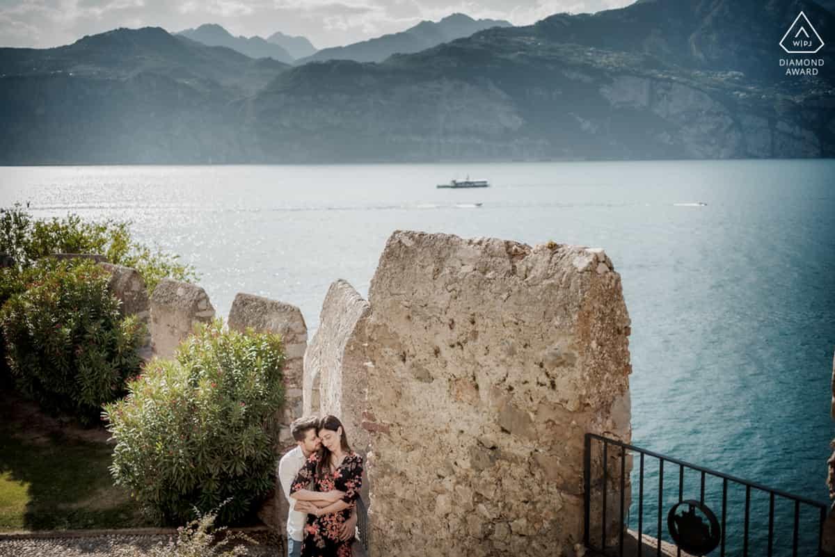 fotografo fidanzamento lago di garda