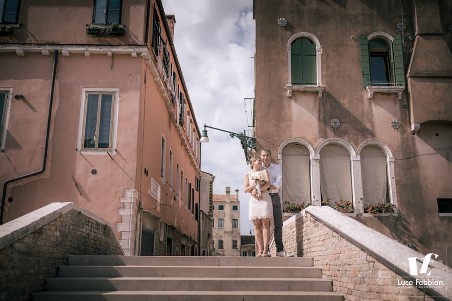 ritratto di matrimonio a Venezia