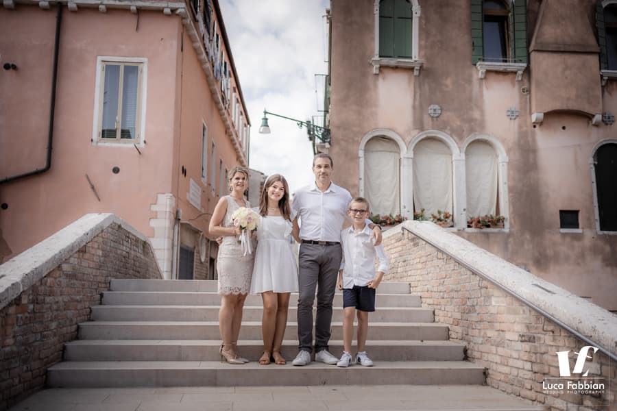 ritratto di famiglia a venezia