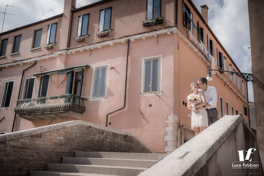 foto di coppia matrimonio Venezia