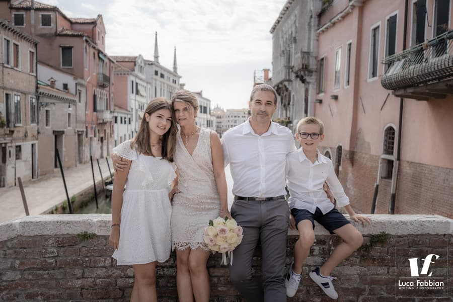 foto di famiglia venezia